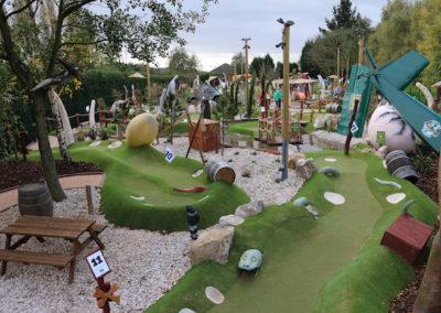 Nottingham 18 Hole Dinosaur CrazyPutt Adventure Golf Course